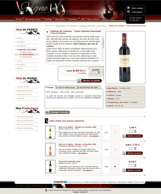 boutique de vin en ligne   buvez ou participez