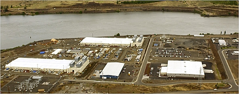 Data center de Google en Oregon (USA)