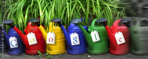 Jardiner pour Google