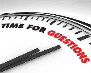 Posez-vous des questions