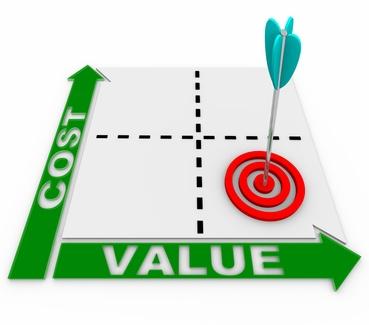 Le rapport coût / valeur