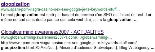 indexation et affichage