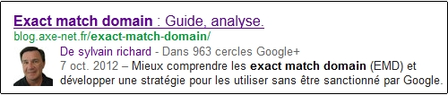 Afficher sa photo en face de ses articles sur Google