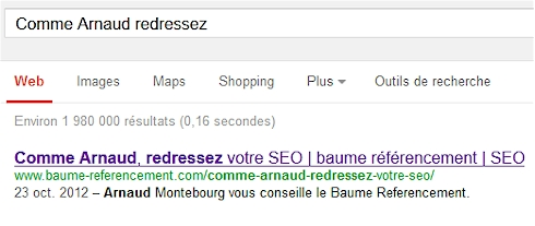 Sacré Arnaud