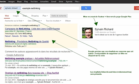 authorship sur google.com