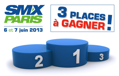 Places gratuites SMX Paris