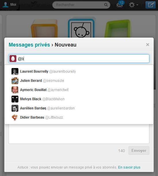DM Twitter
