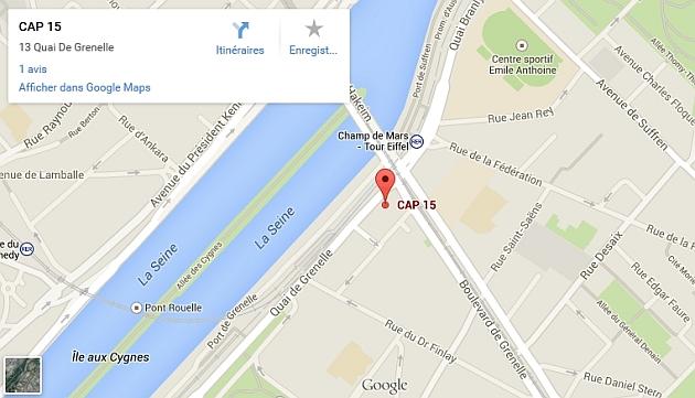 Cliquez pour Google Maps