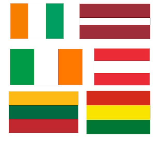 Utiliser du texte ou des drapeaux pour les langues d 39 un site - Drapeau rouge avec drapeau anglais ...