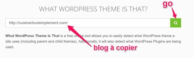 Comment identifier un thème wordpress ?