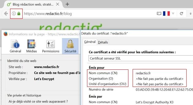 Différences entre les certificats SSL (DV, OV et EV) pour passer au https